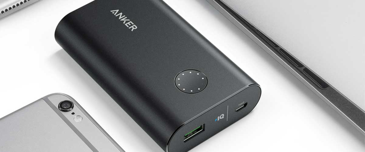 Anker PowerCore+ 10050 Premium Aluminum Portable Charger with Qualcomm Quick Charge 3.0