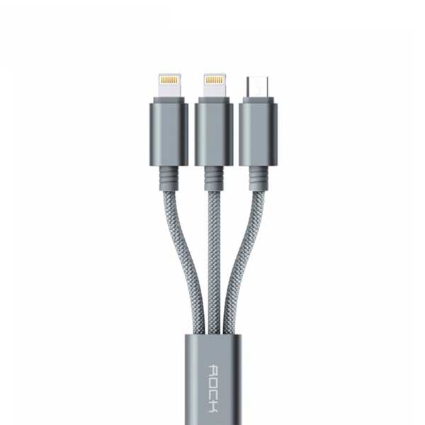 Rock 3 in 1 charging cable