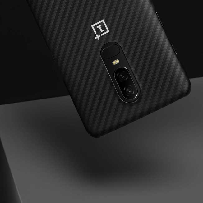 brand new fdbfc 222e1 OnePlus 6 Karbon Protective Case