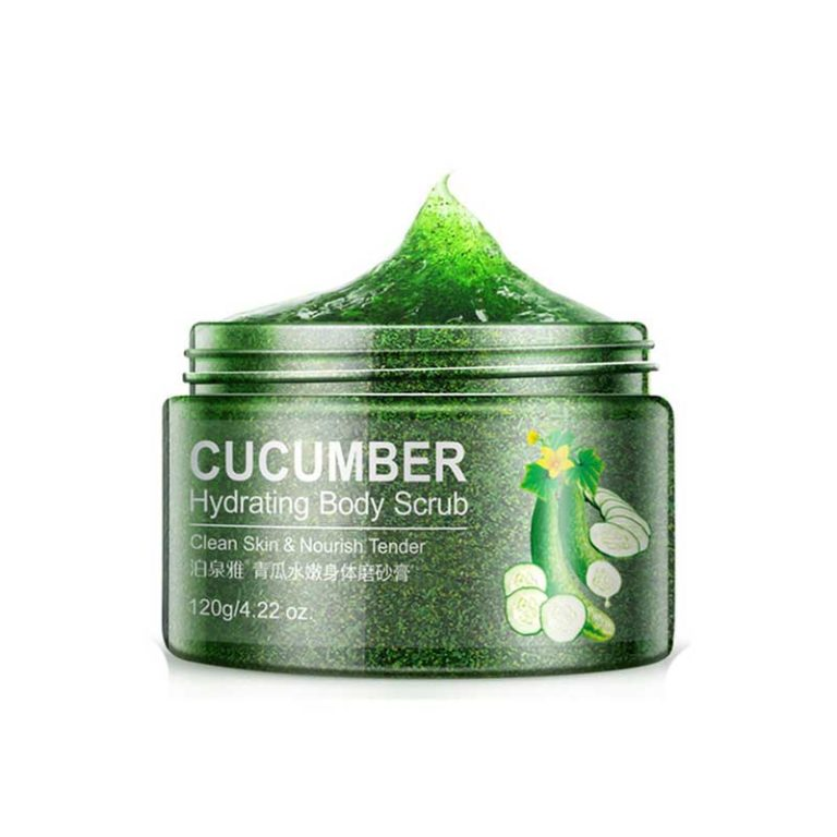 BIOAQUA Cucumber Body Scrub - 120gm