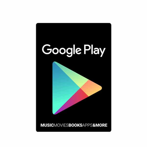 Google Play Gift Card – Digital Code