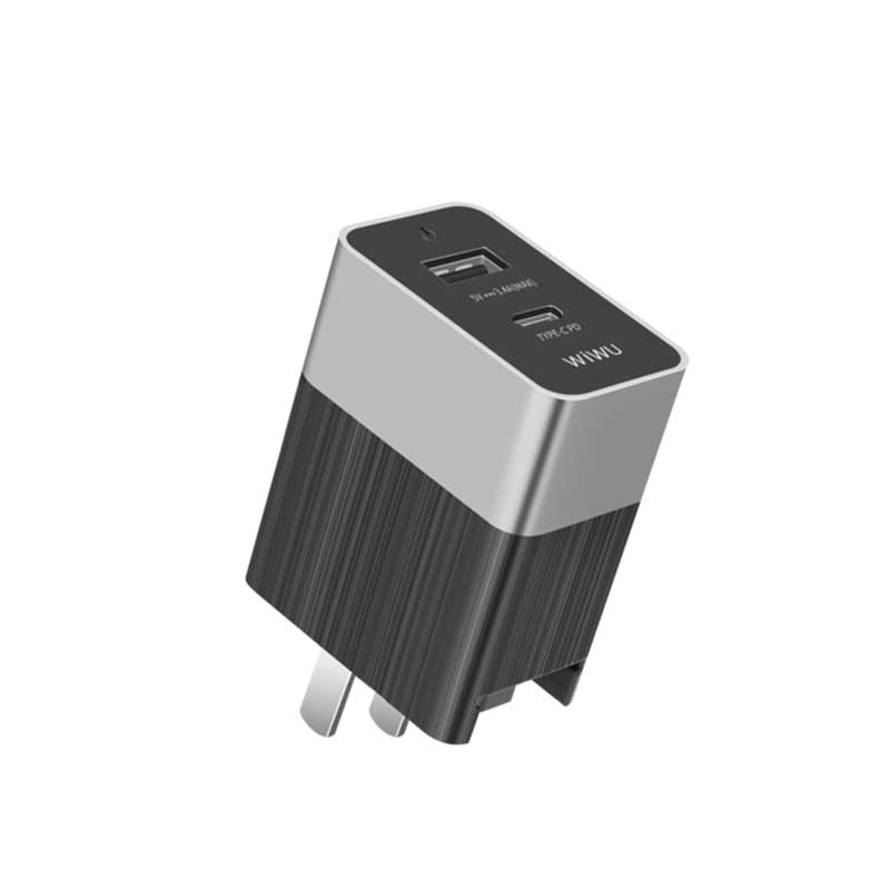 WiWU Power Delivery Dual Power Adapter With Lightning Cable