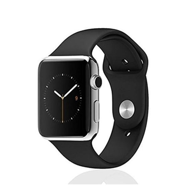 Coteetci Soft Silicone Replacement Strap Sport Band for Apple Watch 42mm
