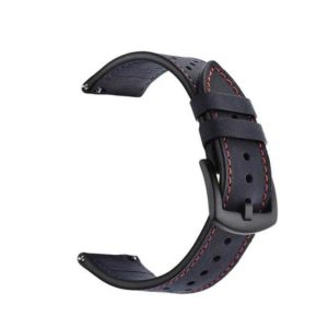 Leather Strap for Xiaomi Amazfit Stratos 22mm