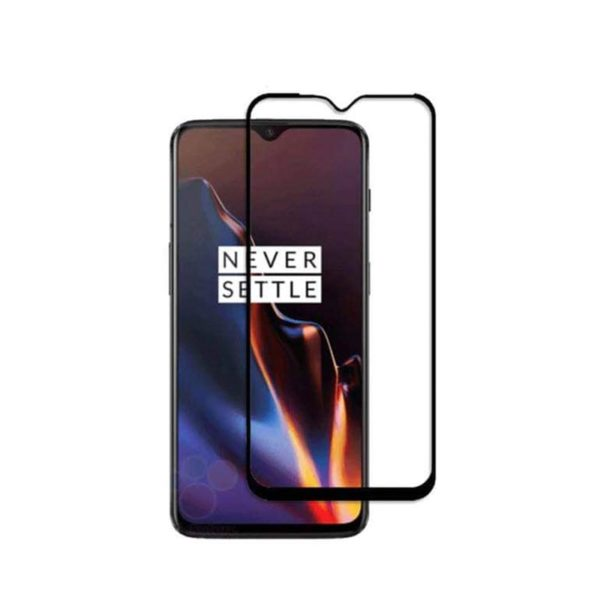 OnePlus 6T Full Glued Tempered Glass Screen Protector