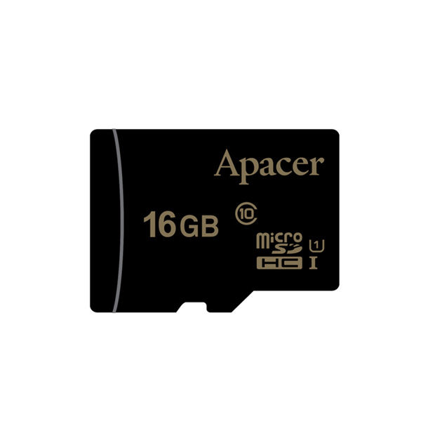 Apacer MicroSDHC UHS-1 16GB Class 10 Memory Card