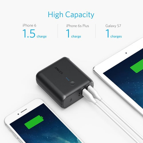 Anker-PowerCore-Fusion-5000mAh-Portable-Power-Bank-and-Wall-Charger---Black-1