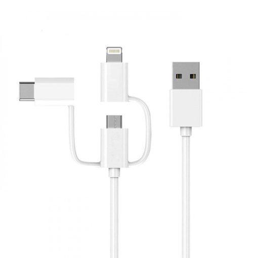 Xiaomi 3 in 1 Cable Micro USB Type C Lightning Data Cable