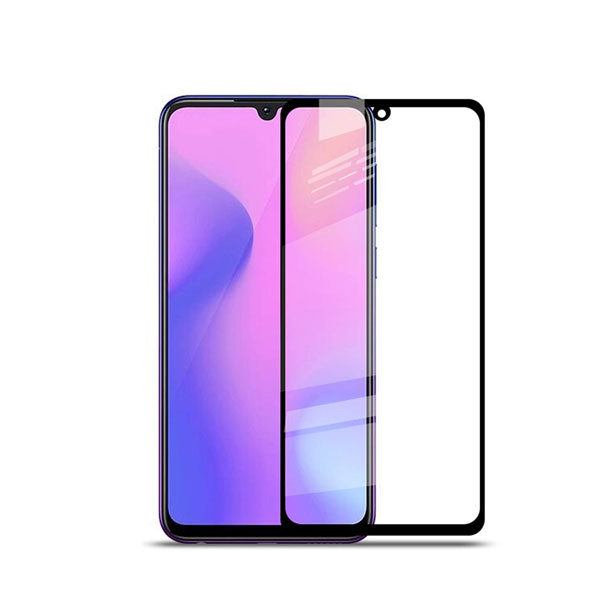 Samsung Galaxy M10 Full Glued Tempered Glass Screen Protector