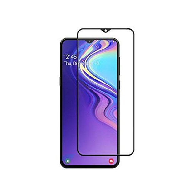 Samsung Galaxy M20 Full Glued Tempered Glass Screen Protector