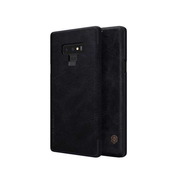Nillkin Qin Flip Case For Samsung Galaxy Note 9 - Black