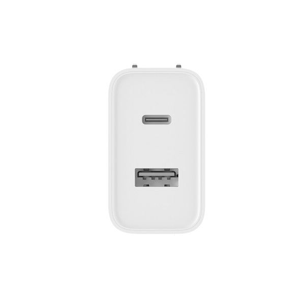 Xiaomi 30W Fast Charge Dual USB Charger - White