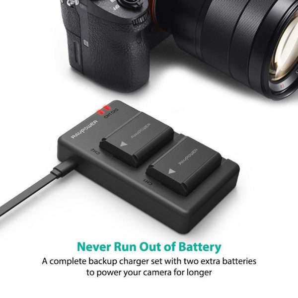 RAVPower-NP-FW50-Camera-Batteries-Charger-Set-for-Sony-(RP-PB056)-3