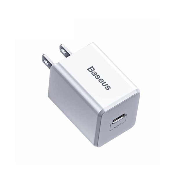 Baseus Traveler PD 18W Quick Charger with Type C to Lightning Cable