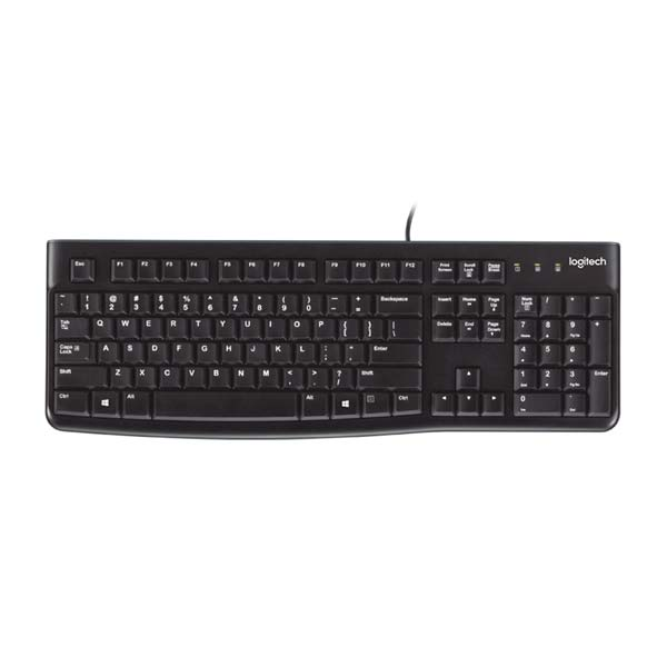 Logitech K120 Black USB Keyboard with Bangla