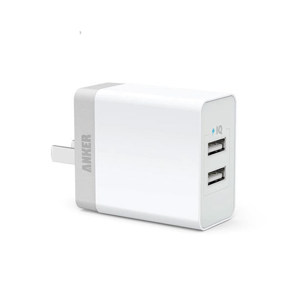 Anker PowerPort Lite 2 Ports Dual USB Wall Charger