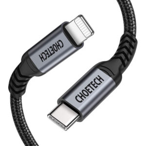 Choetech USB C to Lightning Cable MFI 6ft (IP0039)