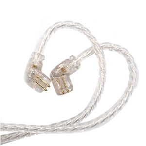 KZ Silver Plated Upgrade Cable for ZSN, ZSN Pro, ZS10 Pro (Without Mic)