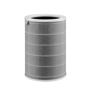 360 Degree 3 Layer filtration True HEPA Filter with filtration efficiency of 99.97% for particle size up to 0.3 microns Primary filter to filter out large particles Activated Carbon filter removes formaldehyde, odor, TVOC and more