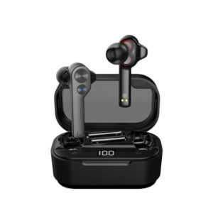 UiiSii TWS808 Dual Driver Airpods Wireless Earbuds - Black