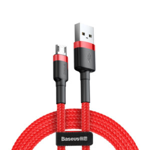 Baseus Cafule Cable USB for Micro 1.5A 2M (CAMKLF-C09) - Red