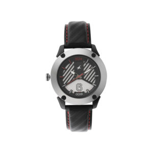 Fastrack 3170KL01 Loopholes White Dial Analog Watch (4)