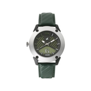 Fastrack 3170KL02 Loopholes Green Dial Analog Watch (4)