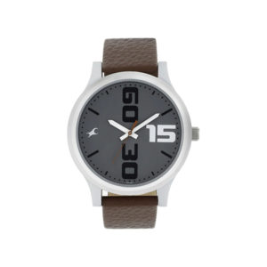 Fastrack NM38051SL05 Bold Brown Leather Analog Watch (4)