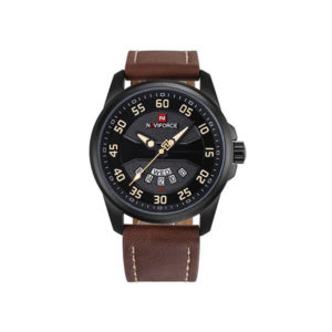 Naviforce NF9124BYDBN PU Leather Analog Watch (1)