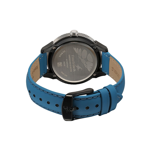 Fastrack 6176KL05 Blue Dial Analog Watch (2)