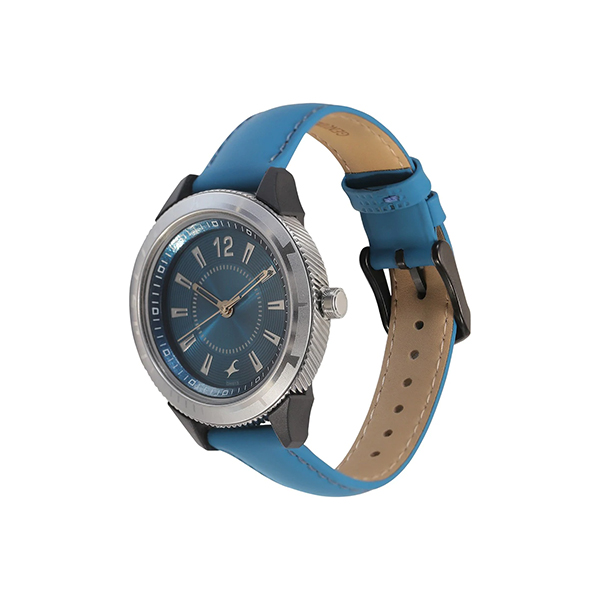 Fastrack 6176KL05 Blue Dial Analog Watch (4)