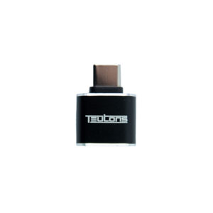 Teutons USB Type-C Male to USB Female OTG Adapter