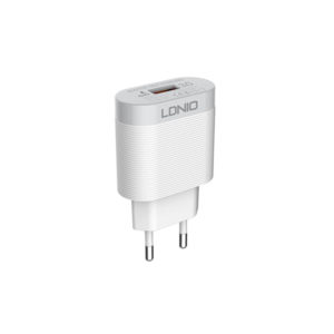 LDNIO 3A Travel Charger with Micro USB Cable EU (A303Q) – White (1)